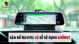 Hướng dẫn sử dụng bản đồ Navitel trên camera hành trình Webvision M39X cực đơn giản
