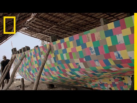 A Boat Made From Plastic Waste is One of Kenya's Solutions to a Global Problem | Short Film Showcase