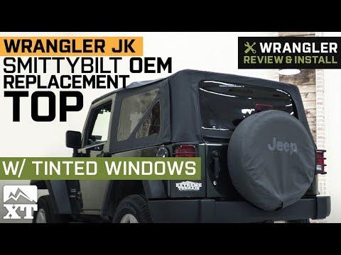 Jeep Wrangler JK Smittybilt OEM Replacement Top w/ Tint (2010-2018 2 Door) Review & Install