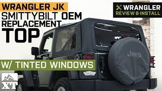 Jeep Wrangler JK Smittybilt OEM Replacement Top w/ Tint (2010-2018 2 Door) Review & Install
