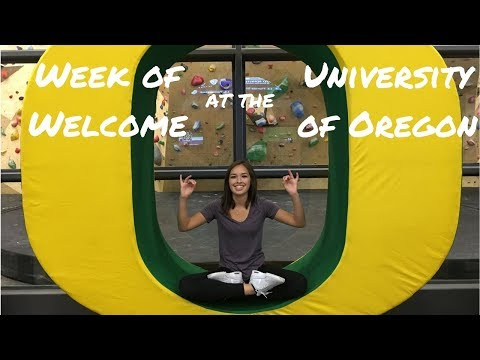 Week of Welcome at the University of Oregon