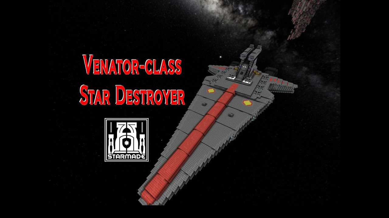 StarMade Build Republic Star Destroyer Full weapons and internal (Alpha) YouTube