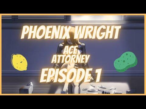 Aos Plays Phoenix Wright: Ace Attorney w/ Jitterbug Episode 1 - Mia's dead already |