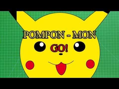 Pokemon Pomponmon GO DIY