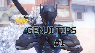 Overwatch gameplay - Genji mini tips + match highlight