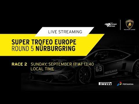 Lamborghini Super Trofeo Europe 2017, Nürburgring - Live Streaming Race 2