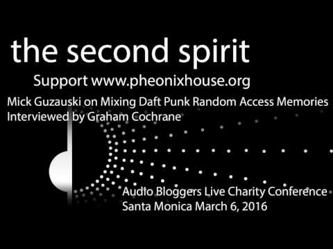 Grammy Winner Mick Guzauski Talks Recording Gear for Daft Punk Garham Cochrane-Support Phoenix House