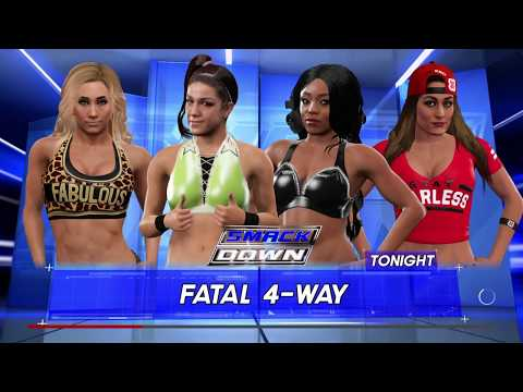 Smackdown #8 l Longest Diva Match