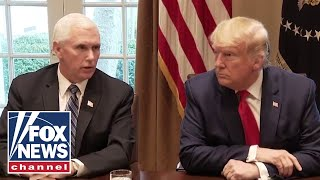 TRUMP AND PENCE MEET FOR FIRST TIME SINCE CAPITOL RIOT.