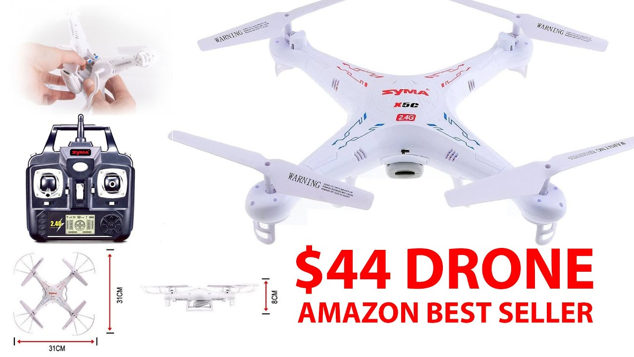 Is This 44 Amazon BEST SELLER Drone Any Good SYMA X5C QuadCopter W HD Cam