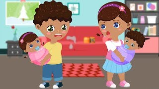 ᴴᴰ Doc McStuffins Babies Learn Colors Funny Story 💗 Head, Shoulders Knees and Toes Cartoon for Kids