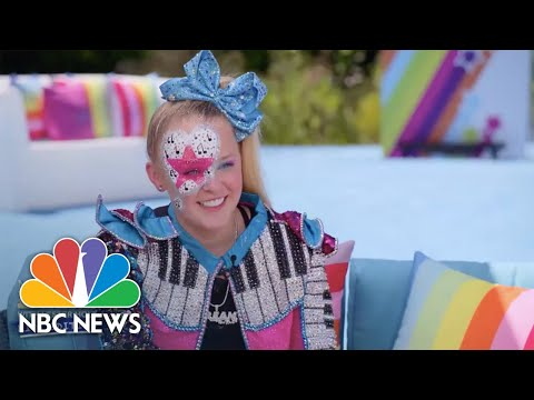 JoJo Siwa Talks About Performing At Home During Quarantine | Nightly News: Kids Edition