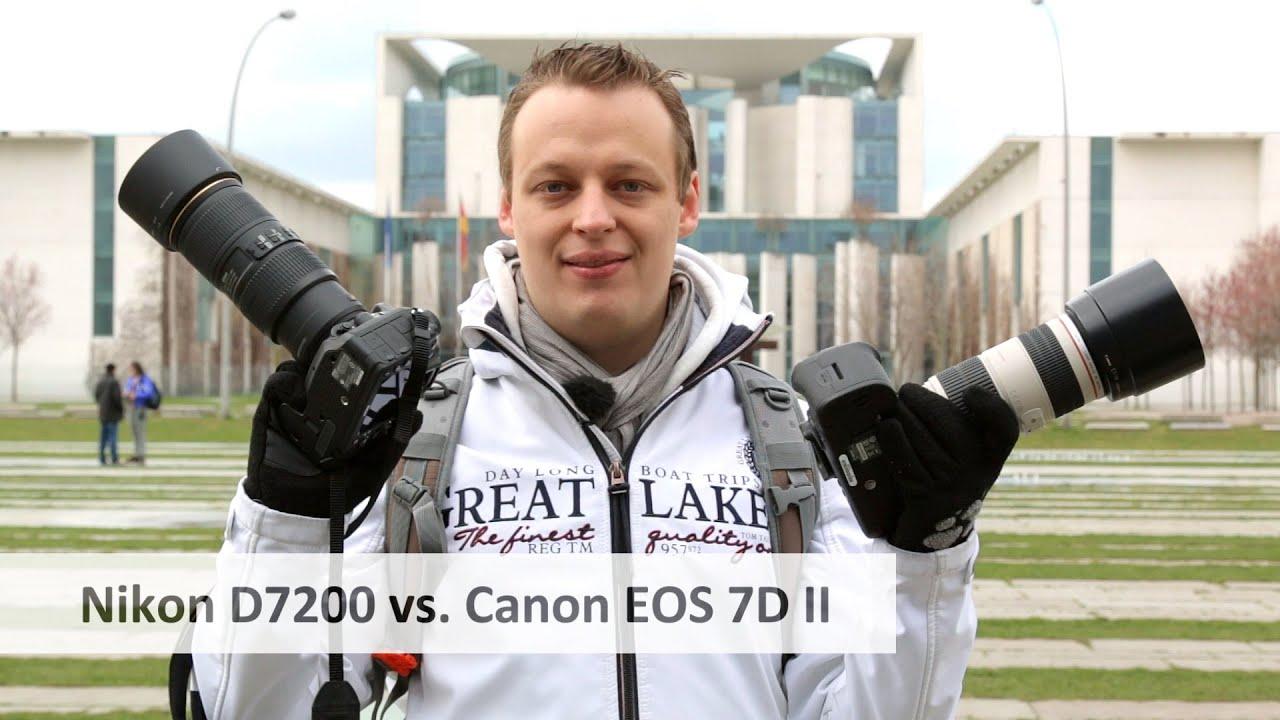 Download Canon EOS 7D Mark II vs Nikon D7200 - Auf der Suche nach der besten APS-C-DSLR [Deutsch]