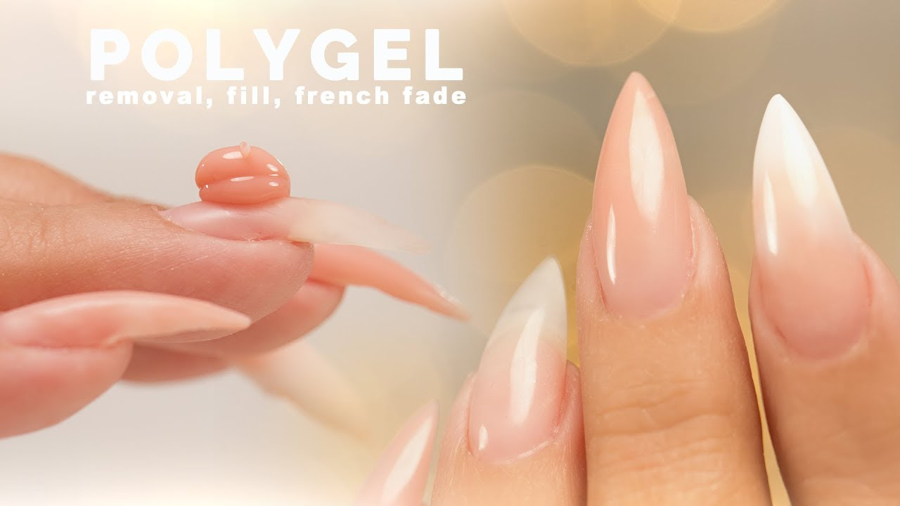 Polygel Removal Fill And Sculpting A French Fade Nail Career Education