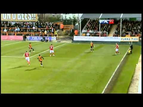 Barnet 0-0 Charlton - The FA Cup 1st Round - 06/11/10