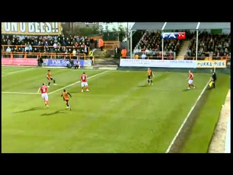 Barnet 0-0 Charlton - The FA Cup 1st Round - 06/11/10