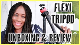 KAMISAFE FLEXI TRIPOD Review | Great Tripod for YouTube and Vlogging | Video Gear | ISOWA GALLERY