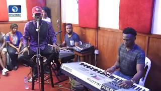EN Exclusive: Adekunle Gold Jamming With Band, The 79th Element