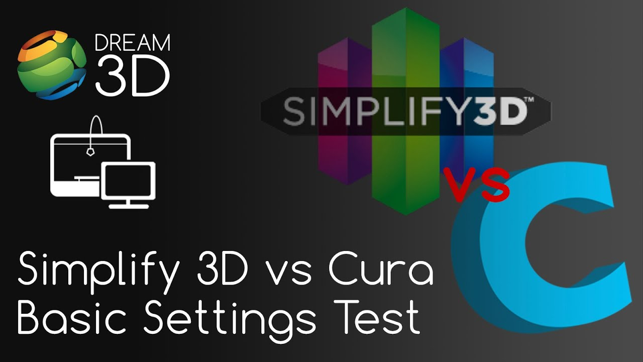 simplify3d vs cura basic settings quality test comparison software dream 3d youtube. Black Bedroom Furniture Sets. Home Design Ideas