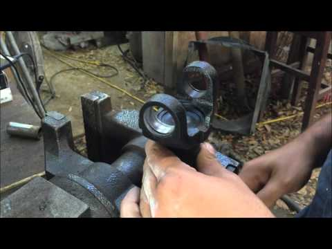 how to install a universal joint how to DIY 68-72 chevelle GM a body 1310