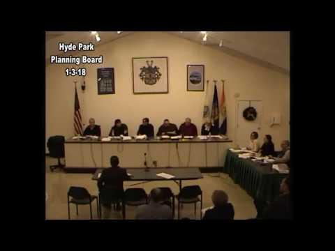 Hyde Park Planning Board 1-3-18