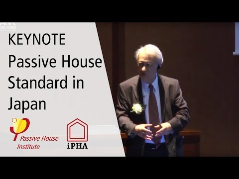 Dr. Wolfgang Feist on the Passive House Standard in Japan
