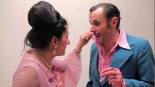 Salon Puschel mit Charles & Erika