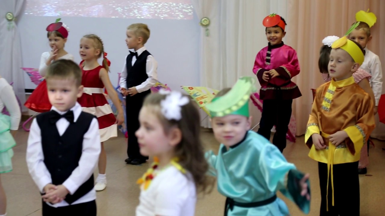 Утренник Осень в Детском саду Золотая рыбка   Ярославль ...