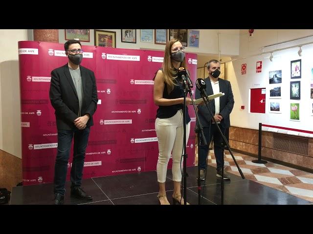 Entrega de premios del XXIV Certamen Provincial de fotografía 2021 #Aspe