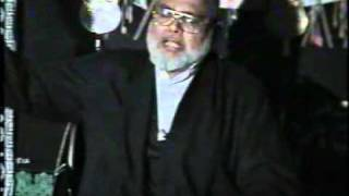 15-Apr-2000 Last majlis of Allama Jawadi on the day of Aashoora