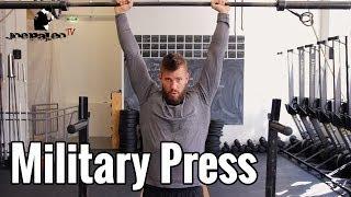 Military Press (Schulterdrücken) | Wie Ihr es richtig macht!
