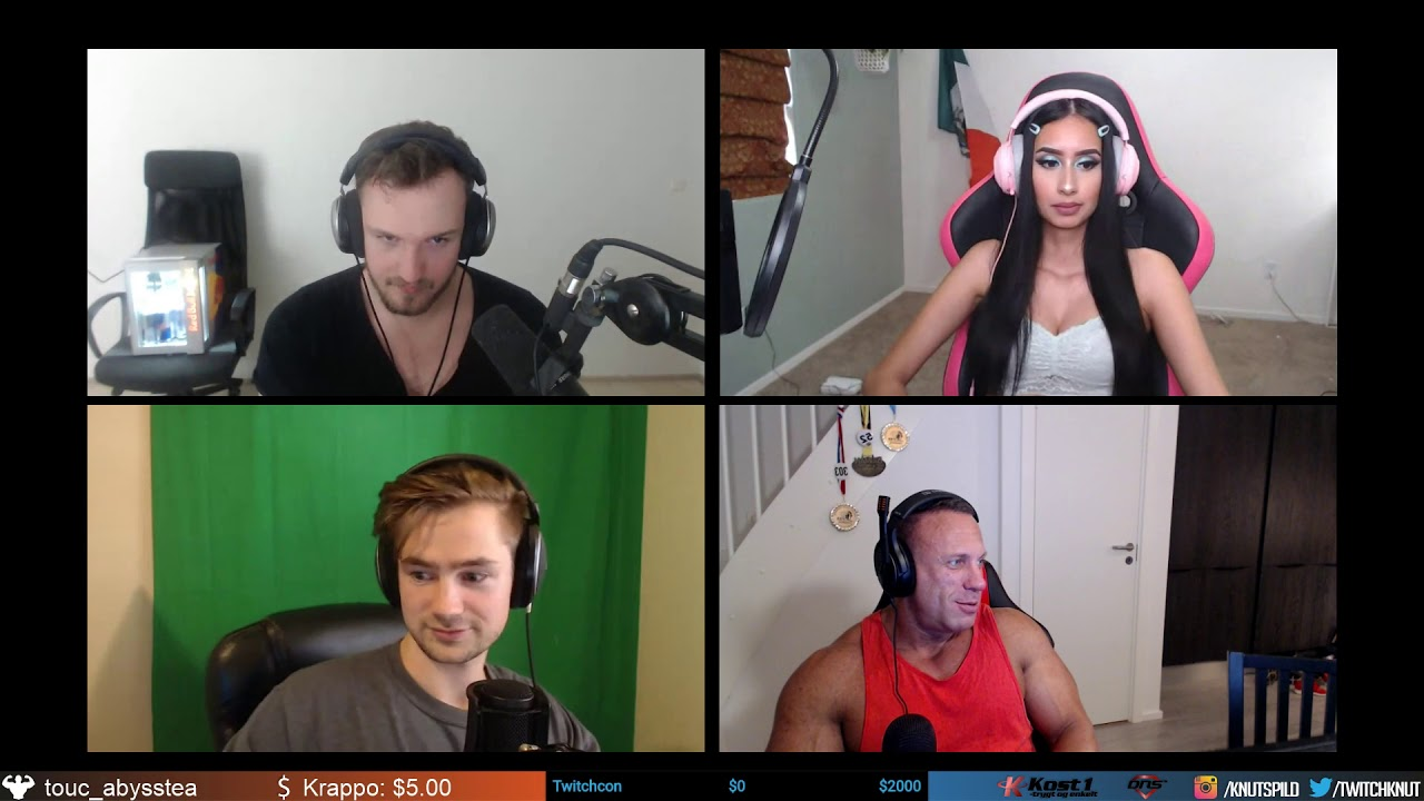 Podcast - Wickd, RoosterTV, Barbie_bad_buns and Giselle