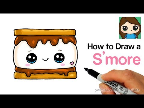 How To Draw Smores Cute And Easy