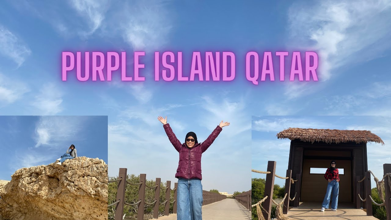 How to go to PURPLE ISLAND Qatar? #VisitQatar