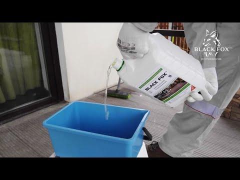 Как очистить доску ДПК? Обзор средства WPC Cleaner Black Fox