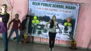 DELHI PUBLIC SCHOOL ,NIGAHI Farwell [dance ]