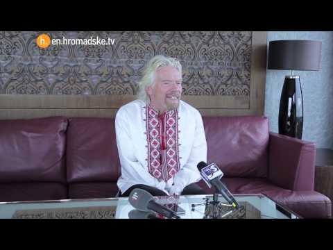 'Ukraine Is A Good Place To Invest', Richard Branson
