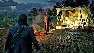 Red Dead Redemption 2 - Meet The Perverted Stalker (Secret Encounter)