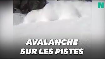 Les images de l'avalanche à Crans-Montana qui a fait un mort