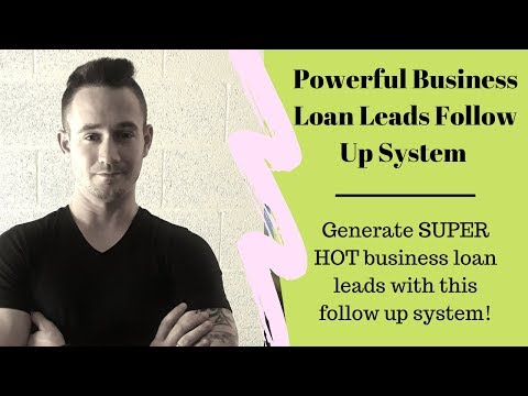 business-loan-leads-follow-up-system---plus-free-lending-website