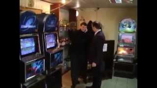 Ляшко разгромил игровые автоматы в Кривом Роге