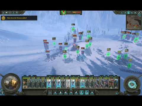 Total War: Warhammer II - The Queen & the Crone - Winning the Star of Avelorn (strategy) |