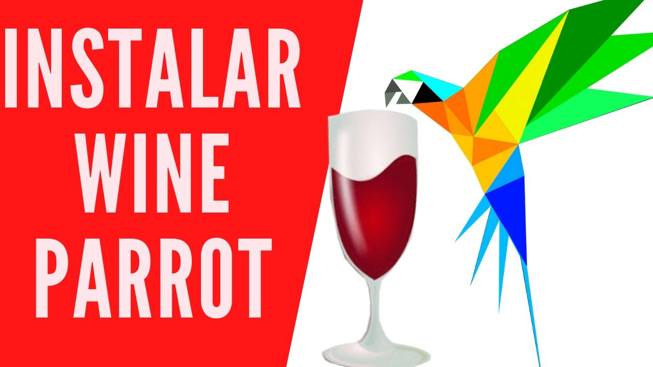 instalar wine parrot linux