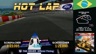 Formula 1 (PSX) | Brazil - Interlagos | Hot Lap