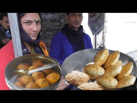 Bengali Husband Wife Working together to maintain their family - 3 Piece Dal Puri @ 10 rs Only
