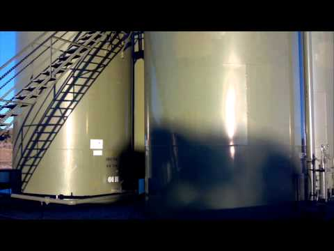 Close Up Toxic Tour: Unsecured Encana Oil & Gas Fracking Site in Lybrook, NM (2/8/2015)