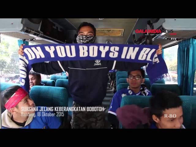 Final Piala Presiden 2015: Bobotoh Invasi Stadion GBK