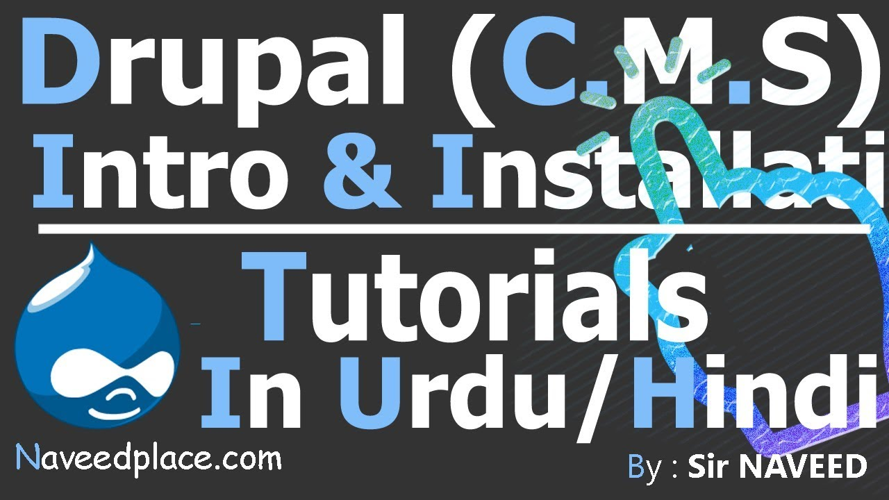 Drupal cms intro installation tutorials in urduhindi youtube drupal cms intro installation tutorials in urduhindi baditri Images