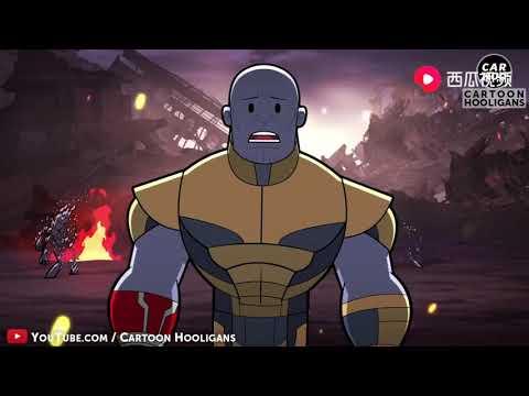 《复仇者联盟4》结局恶搞版本,钢铁侠跟星云睡一起了???