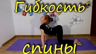 Развитие гибкости спины и позвоночника! Development of flexibility of the back and spine!